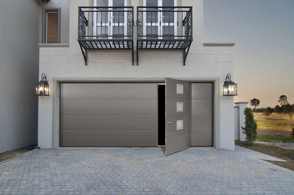 porte de garage moderne